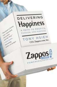 DELIVERING HAPPINESS – A Path to Profits, Passion, and Purpose