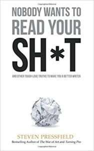 NOBODY WANTS TO READ YOUR SH*T